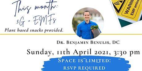 5G and EMFs with Dr. Ben tickets