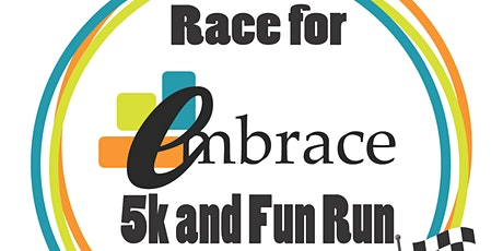 Race For Embrace Virtual 5K tickets