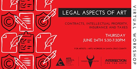 Legal Aspects of Art: Contracts, Intellectual Property, Insurance, & Taxes tickets