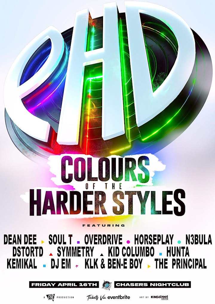 PHD  Pres. THE COLOURS of the HARDER STYLES image