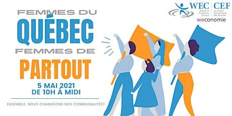 (FR) Femmes du Québec, femmes de partout tickets