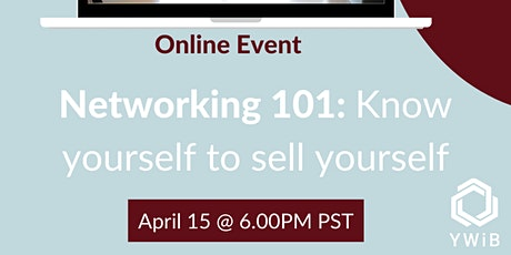 Networking 101: Know yourself to sell yourself tickets