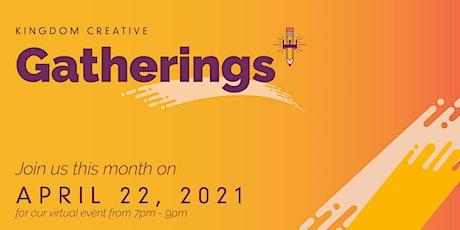 Virtual Gatherings - April tickets
