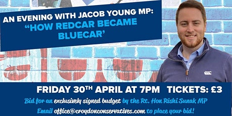 How Redcar became Bluecar - An Evening with Jacob Young MP tickets