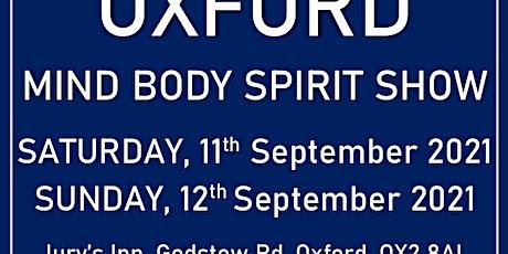 Oxford Mind Body Spirit Wellbeing Show tickets