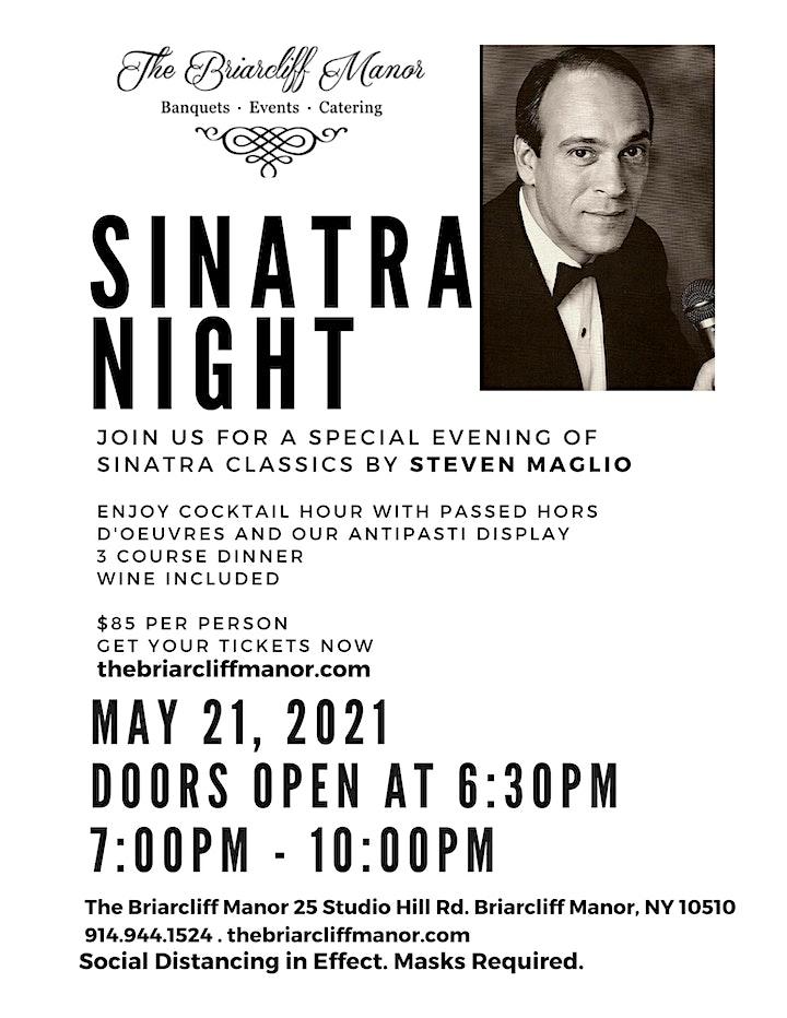 Sinatra Night Featuring Steven Maglio image