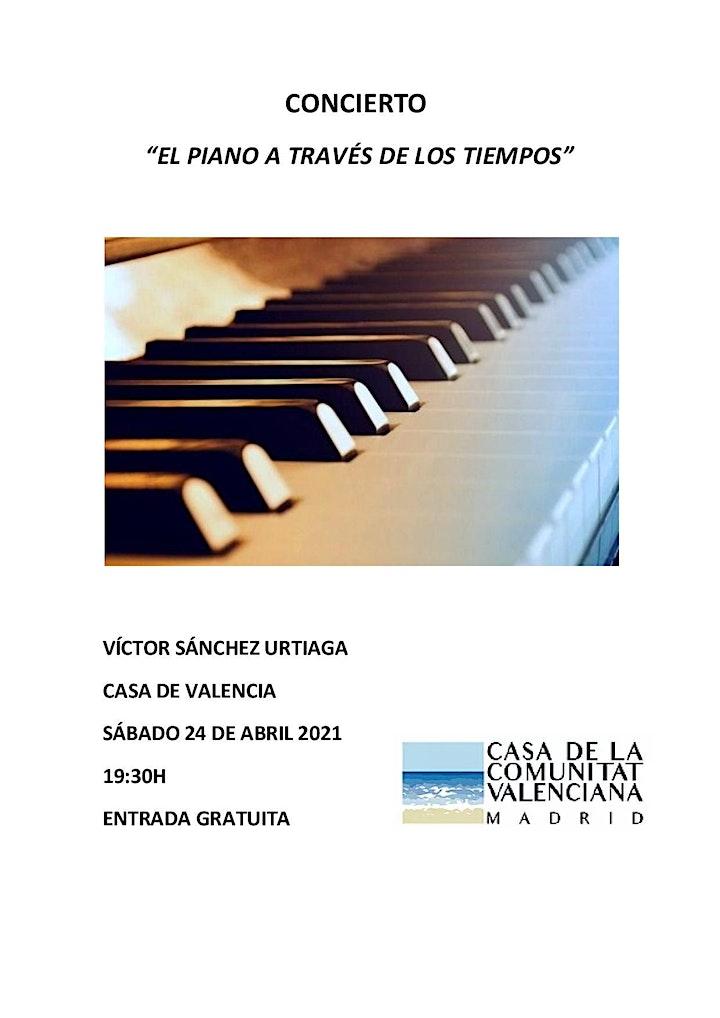 """Imagen de """"EL PIANO A TRAVÉS DE LOS TIEMPOS"""""""
