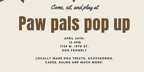 Paw Pals pop up tickets