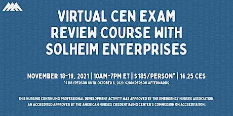 Solheim's Virtual CEN Exam Review Course | November 2021 tickets