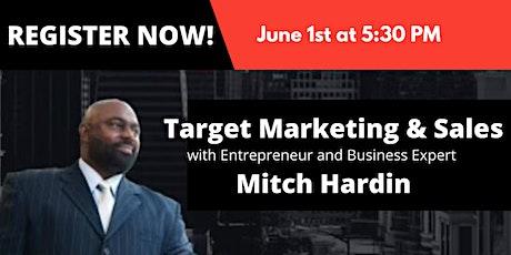 Target Marketing & Sales tickets