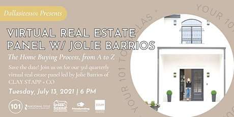 Virtual Real Estate Panel: Home Buying Process, From A to Z tickets