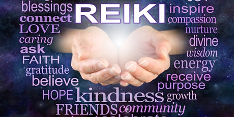 Usui Reiki Level 1 Certification Workshop - ONLINE Saturday 5/8/21 tickets