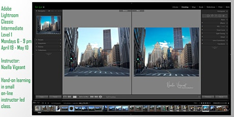 Adobe Lightroom Intermediate tickets