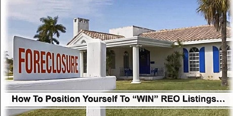 How to successfully list Foreclosure Properties! tickets