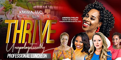 Thrive Unapologetically tickets