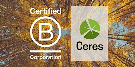 B Local Boston & Ceres Climate Advocacy Event tickets