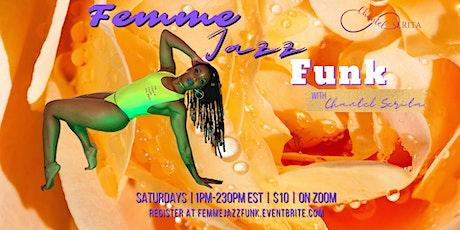 Femme Jazz Funk Dance Class tickets