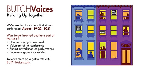 2021 BUTCH Voices Virtual Conference tickets
