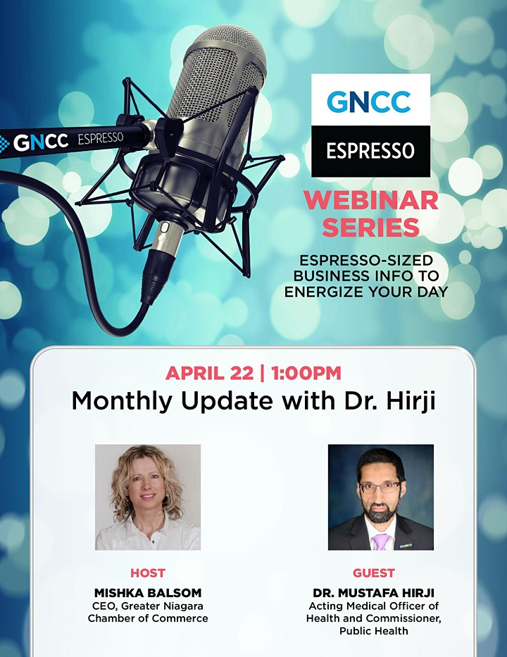 Espresso Live  with Dr. Hirji: April 22 image