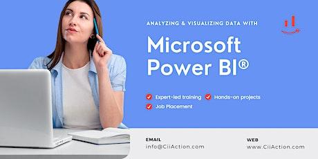 Analyzing and Visualizing Data with Microsoft Power BI billets