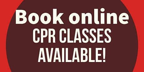 CPR/First aid/Aed Online course w Certification and skills test  tickets
