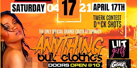 ANYTHING BUT CLOTHES ORANGE CRUSH 2K21 tickets