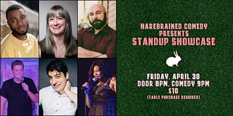 Harebrained Comedy presents Standup Showcase (Friday) tickets
