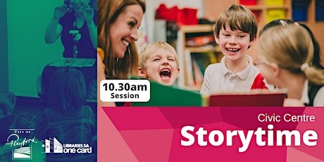 Storytime : Term 2- 10.30am Civic Centre Library tickets