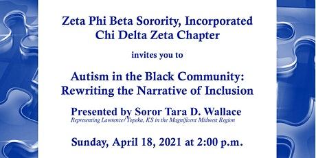 Autism in the Black Community: Rewriting the Narrative of Inclusion tickets