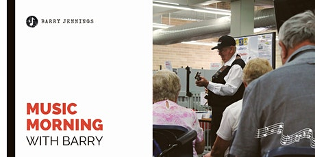 Music Morning with Barry - Nowra Library tickets
