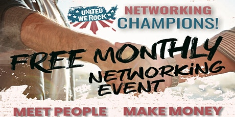 United We Rock! Networking Champions Event tickets