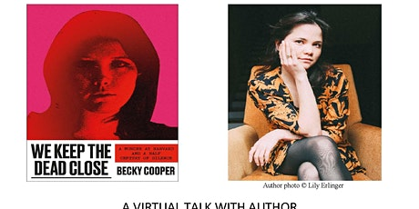 A VIRTUAL TALK WITH AUTHOR BECKY COOPER tickets