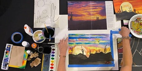 Watercolor  Wash with Deb Goley - Class 4: Desert Landscape tickets