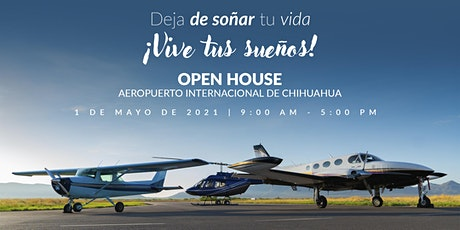 Open House SACH Aviación boletos