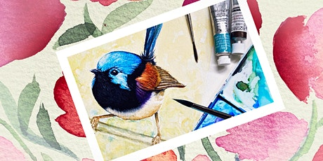 Watercolour inspired by Birds and Blooms with Diane Goodman tickets