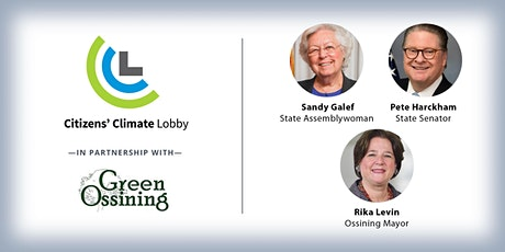 Westchester Citizens' Climate Lobby Political Leaders Panel Discussion tickets