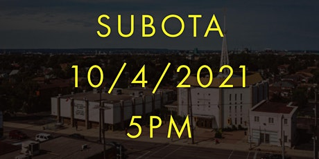 Nedjeljna misa u subotu 5:00PM -  Holy Cross 10/4/2021 tickets