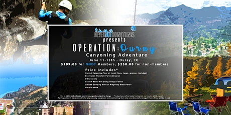 Operation: Ouray (Canyoning and more...) tickets