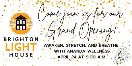 Awaken, Stretch, and Breathe with Ananda Wellness tickets
