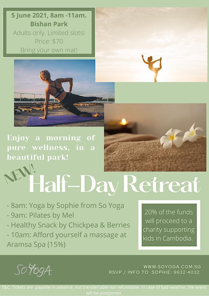 Second Edition! Half Day Retreat at Bishan Park image