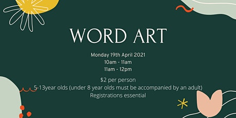 Word Art tickets