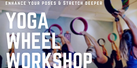Yoga Wheel Workshop on Zoom tickets