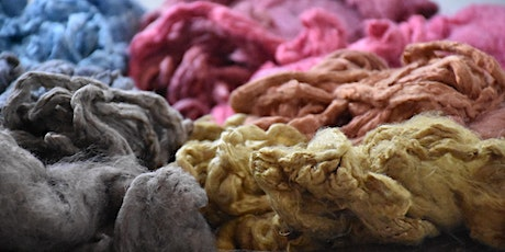 Blending Nature Dyed Silks with Natural Coloured Wools with Kim McKenna tickets