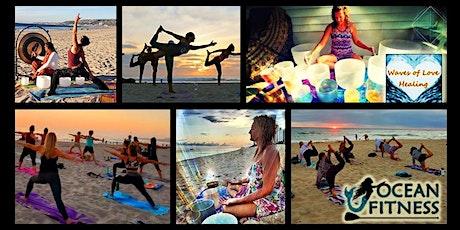 Sunset Sound Healing + Beach Yoga Journey in St Pete Beach! tickets