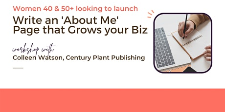 How to Write an About Me Page that Grows Your Business tickets