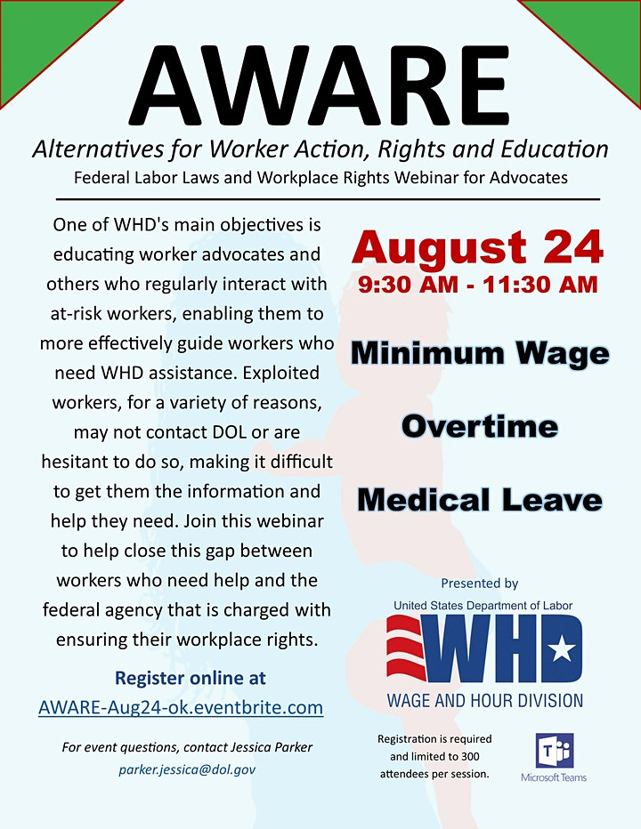 AWARE: Helping Advocates Help Vulnerable Workers image