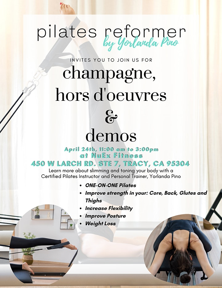 Champagne, Hors-d'oeuvres & Demos image