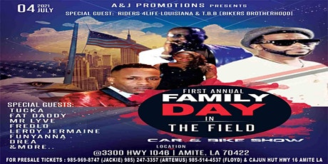 Family day in the field tickets