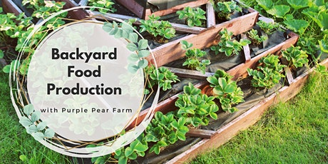 Backyard Food Production workshop tickets