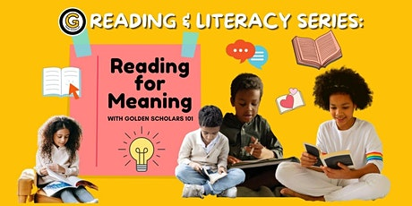 Reading for Meaning: (Virtual) Workshop tickets